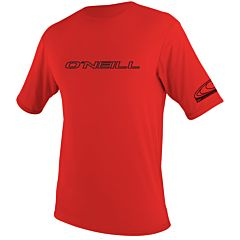 O'Neill Wetsuits Basic Skins Rash Tee - Red