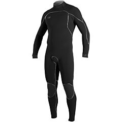 O'Neill Psycho I 3/2 Back Zip Wetsuit - Black