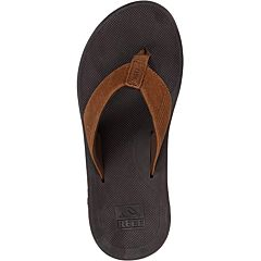 Reef Leather Phantom II Sandals - Bronze - Top