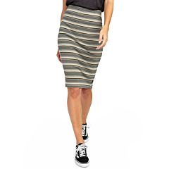 RVCA Women's Pick Me Up Skirt - Oatmeal - front