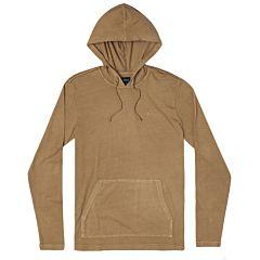 RVCA PTC Hooded Long Sleeve T-Shirt - Honey - main