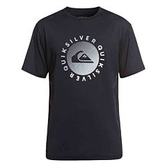 Quiksilver Razors Short Sleeve Rash Guard - Black