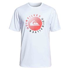 Quiksilver Razors Short Sleeve Rash Guard - White