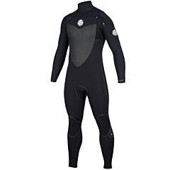 Rip Curl Flash Bomb 3/2 Chest Zip Wetsuit - Black