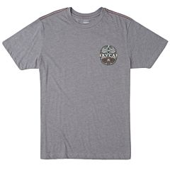 RVCA Opposites T-Shirt - Smoke - front
