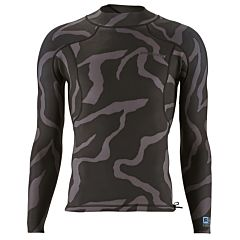 Patagonia R1 Lite Yulex 1.5mm Front Zip Long Sleeve Jacket - Tiger Tracks Camo