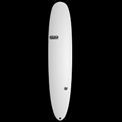 Skindog Blender Thunderbolt Surfboard - White - Deck