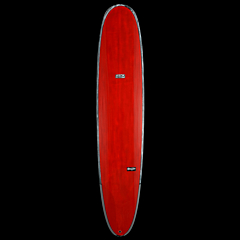 Skindog Wrangler Thunderbolt Surfboard - Brushed/Red Tint - Deck