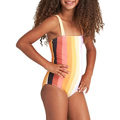 Billabong Youth Sunset Glow Swimsuit - Multi - front