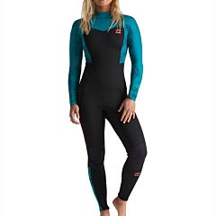 Billabong Women's Synergy 3/2 Back Zip Wetsuit - Mermaid
