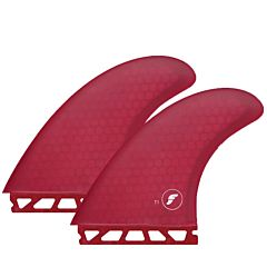 Futures Fins T1 Honeycomb Twin + 1 Fin Set