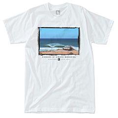 HippyTree Trekker T-Shirt - White - front