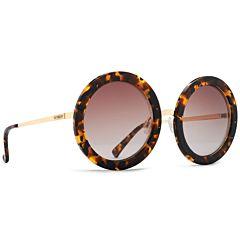 Von Zipper Women's Fling Sunglasses - Tortoise Gold/Brown Gradient