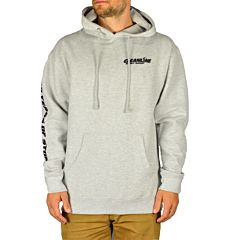 Cleanline Retro Wave Hoodie - Heather Grey - Front