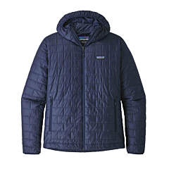 Patagonia Nano Puff Hoodie Jacket - Classic Navy