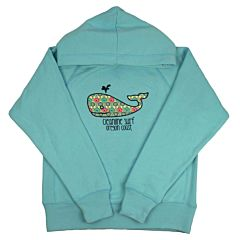 Cleanline Youth Lil' Whale Hoody - Surf