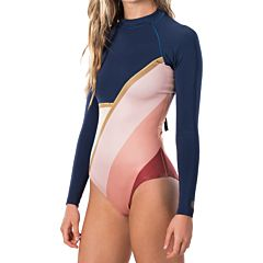 Rip Curl Women's G-Bomb 1mm Long Sleeve Back Zip Spring Wetsuit - Cheeky Cut