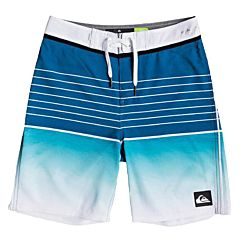 Quiksilver Youth Highline Slab Boardshorts - Turquoise - front