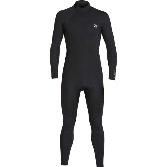 Billabong Furnace Absolute Flatlock 3/2 Back Zip Wetsuit