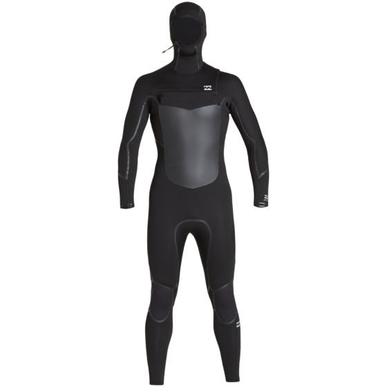 Billabong Furnace Absolute X 5/4 Hooded Chest Zip Wetsuit