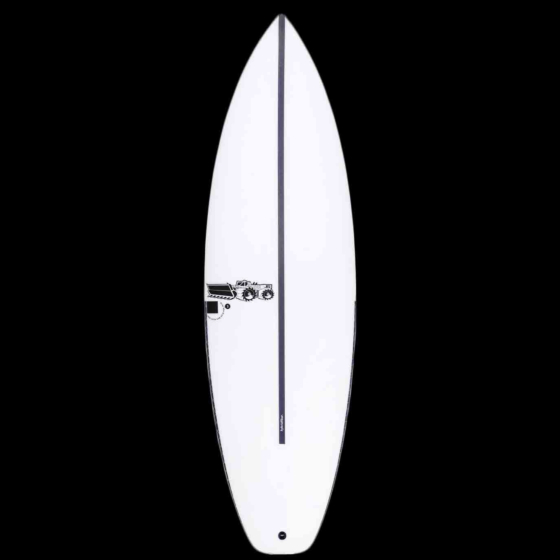 JS Black Box 3 HYFI Squash Tail Surfboard - Deck