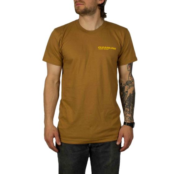 Cleanline New Rock T-Shirt - Camel