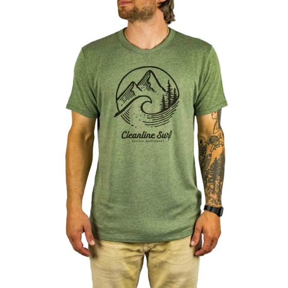 Cleanline PNW T-Shirt - Vintage Pine