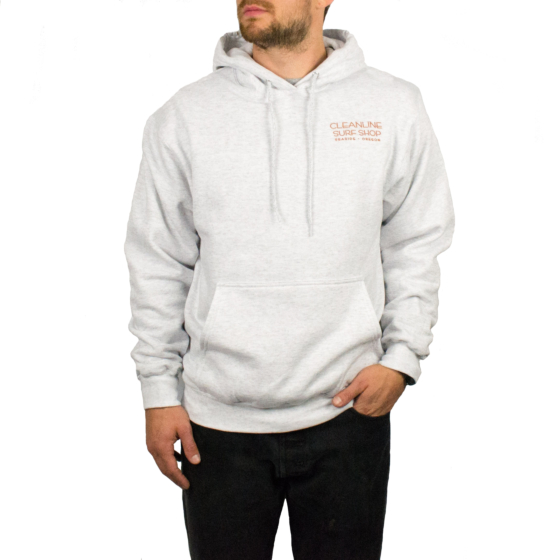Cleanline Surf Lodge Hoody - Ash
