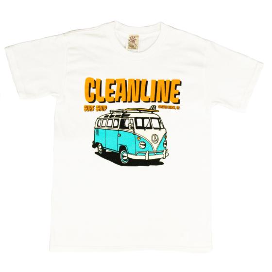 Cleanline Youth Bus Trip Cannon Beach T-Shirt - White