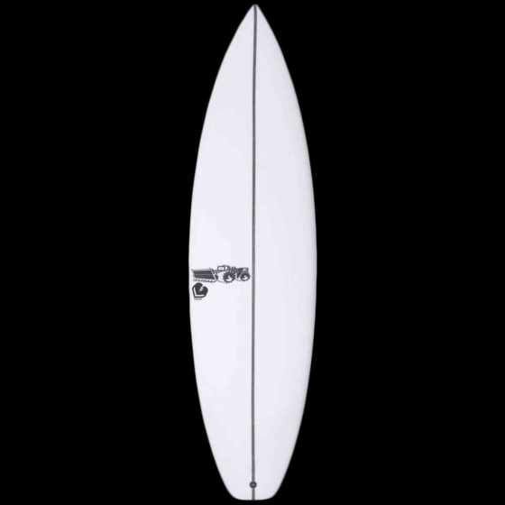 JS Forget Me Not 2 Squash Tail Surfboard - Deck