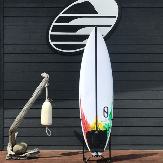 Slater Designs FRK 6'1 x 19 5/8 x 2 11/16 Used Surfboard - top