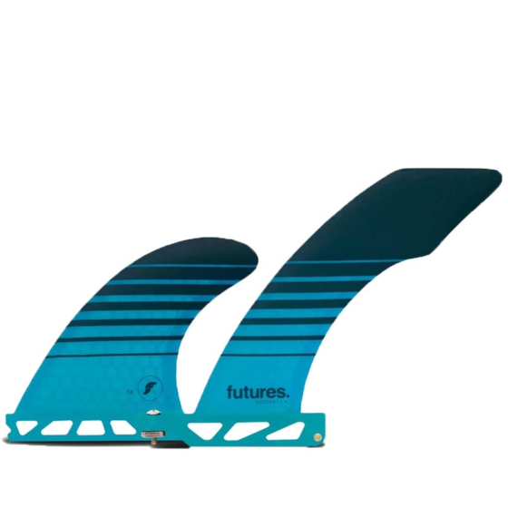Futures Fins Hatchet 2 + 1 Longboard Fin Set