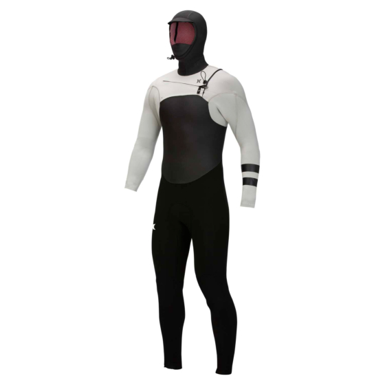 Hurley Advantage Plus 5/3 Hooded Chest Zip Wetsuit