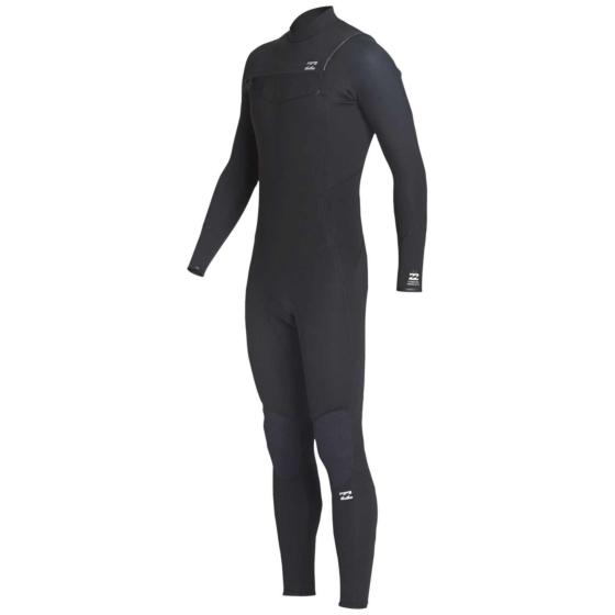 Billabong Furnace Absolute 4/3 Chest Zip Wetsuit - Black