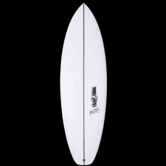 JS Nitro Squash Tail Surfboard - Deck