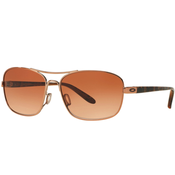 Oakley Women's Sanctuary Sunglasses - Rose Gold/Vr50 Brown Gradient