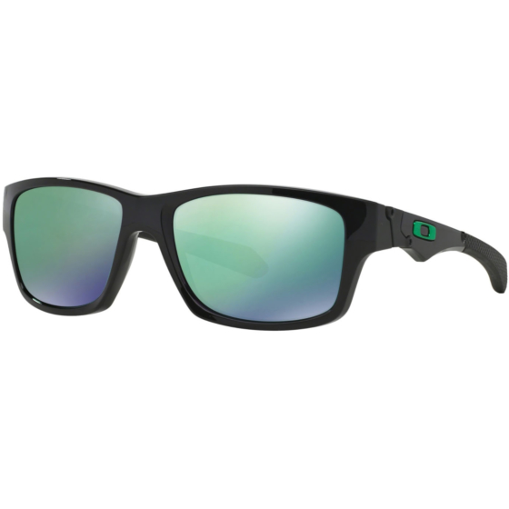 Oakley Jupiter Squared Sunglasses - Polished Black/Jade Iridium