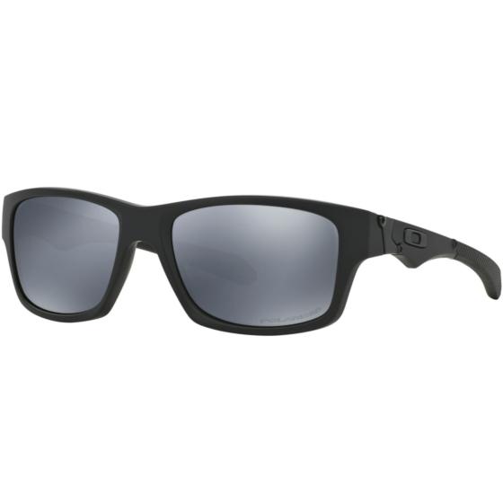 Oakley Jupiter Squared Polarized Sunglasses - Matte Black/Black Iridium