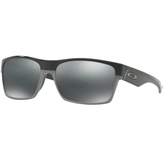 Oakley Twoface Sunglasses - Polished Black/Black Iridium