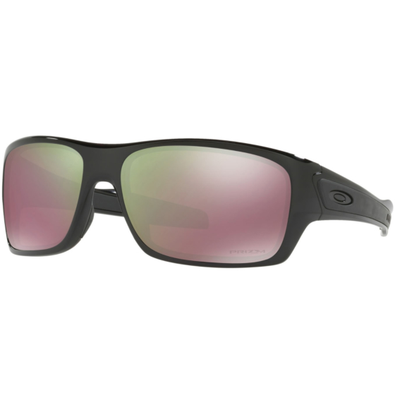 Oakley Turbine Polarized Sunglasses - Polished Black/Prizm Shallow Water