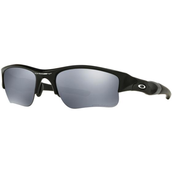 Oakley Flak Jacket XLJ Polarized Sunglasses - Jet Black/Black Iridium