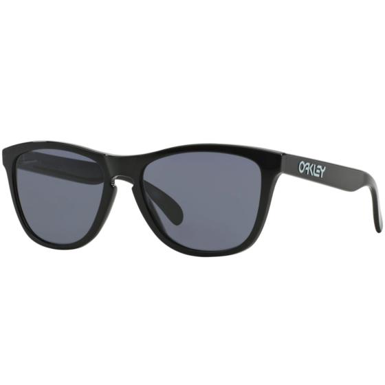 Oakley Frogskins Sunglasses - Polished Black/Grey