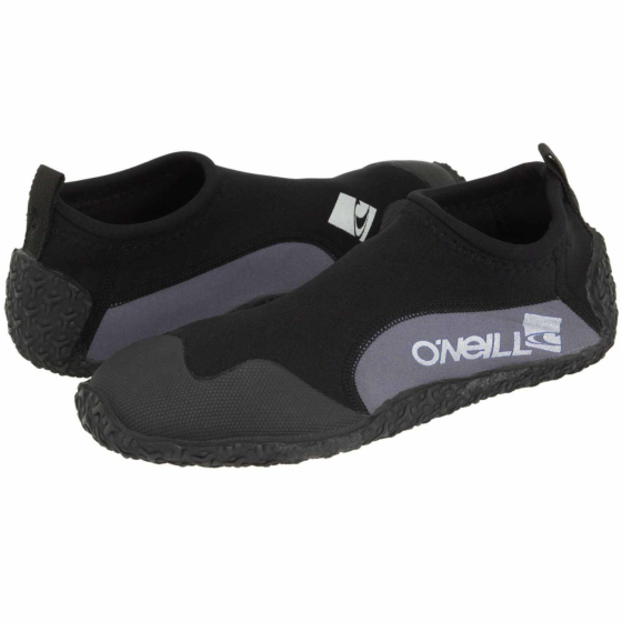 O'Neill Reactor 2mm Reef Boots - Black/Grey