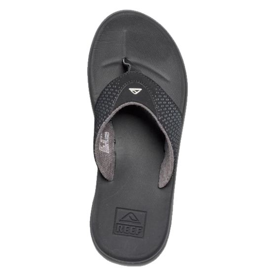 Reef Rover Sandals - Black - Top