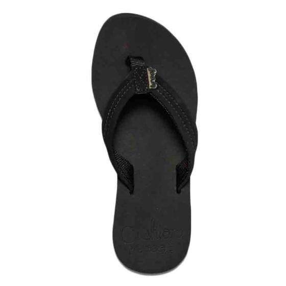 Reef Women's Cushion Breeze Sandals - Black/Black