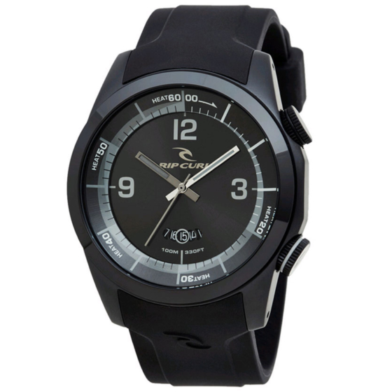 Rip Curl Launch Heat Timer Watch Watch - Midnight