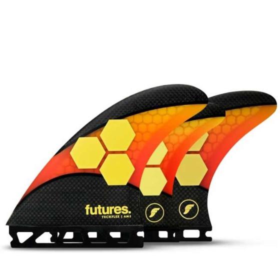 Futures Fins AM2 Techflex Tri-Quad Fin Set