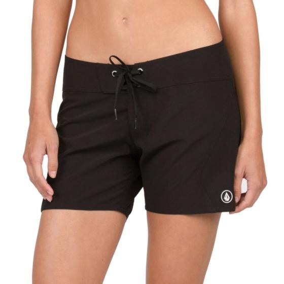Volcom Women's Simply Solid Boardshorts - Black