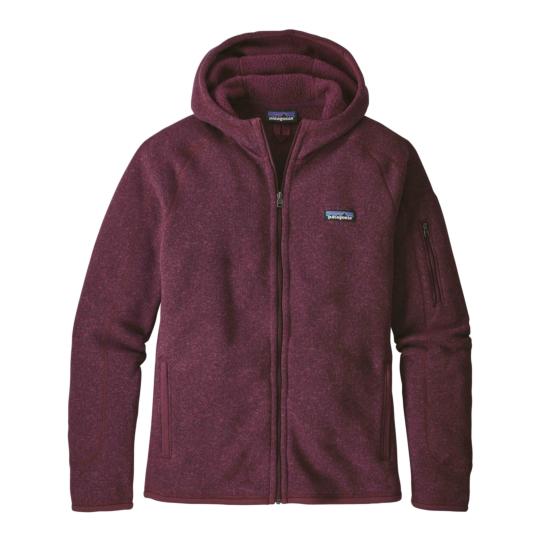 Patagonia Women's Better Sweater Full-Zip Fleece Hoody - Dark Currant