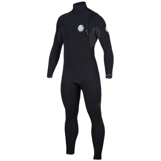 Rip Curl Flash Bomb 4/3 Zip Free Wetsuit